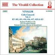 Vivaldi: Cello Concerti, Vol. 4