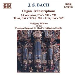 J.S. Bach: Organ Transcriptions