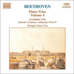Beethoven: Piano Trios, Vol. 4