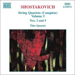 Shostakovich: String Quartets (Complete), Vol. 3