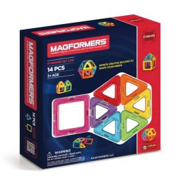 Magformers - 14 Piece Magnetic Building Set