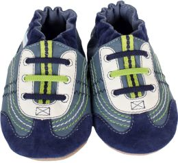 Boys Soft Sole Braedon Navy Size 0-6 months, 1 Pack