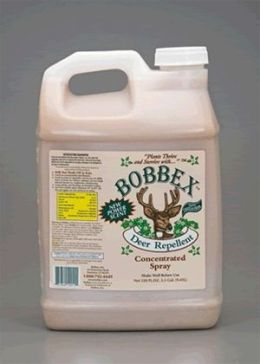 Bobbex B550160 Deer Repellant Concentrate 2.5 Gallon Bottle