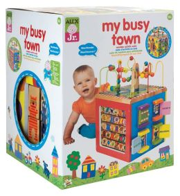 Alex My Busy Town Activity Cube