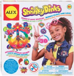Alex Toys Shrinky Dinks Peace & Love Jewelry