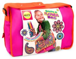 Color A Flower Bag