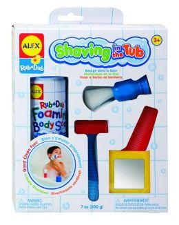 Alex Shaving in the Tub Bath Toy