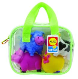 Alex Toys Farm Squirters for the Tub Bath Toy