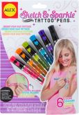 Product Image. Title: Sketch & Sparkle Tattoo Pens