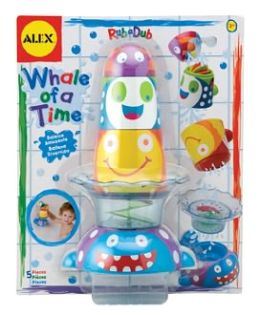 Alex Toys Whale of a Time Bath Toy