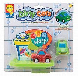 Alex Dirty Cars Bath Toy