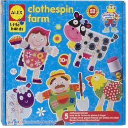 ALEX Clothespin Farm