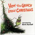 CD Cover Image. Title: How the Grinch Stole Christmas [Original Audio Recording], Artist: Boris Karloff