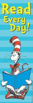 Eureka EU-834280 Cat In The Hat Read Every Day Bookmarks