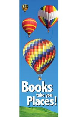Eureka Eu-834212 Books Take You Places Bookmarks