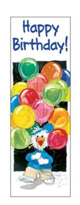 EUREKA EU-834090 BOOKMARKS SUZYS ZOO BIRTHDAY