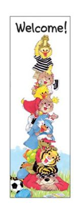 EUREKA EU-834100 BOOKMARKS SUZYS ZOO WELCOME