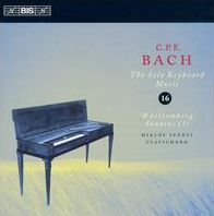 C.P.E. Bach: The Solo Keyboard Music, Vol. 16