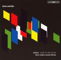Alfred Schnittke: Epilogue; works for cello & piano