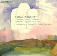 Armas Järnefelt: Symphonic Fantasy; Berceuse; Serenade; Suite in E flat major