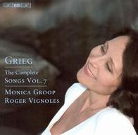 Grieg: The Complete Songs, Vol. 7