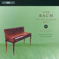 C.P.E. Bach: The Solo Keyboard Music, Vol. 22