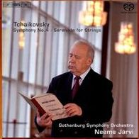 Tchaikovsky: Symphony No. 4; Serenade for Strings