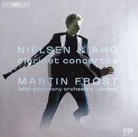 Nielsen & Aho: Clarinet Concertos