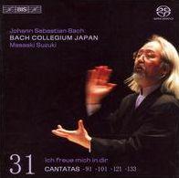 Bach: Cantatas, Vol. 31 - 91, 101, 121, & 133