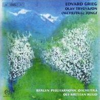 Grieg: Olav Trygason; Orchestral Songs