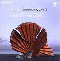 Britten: String Quartet No. 2; 3 Divertimenti; Miniature Suite; String Quartet in D