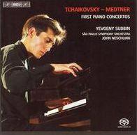 Piano Concertos by Tchaikovsky & Medtner