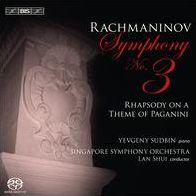 Rachmaninov: Symphony No. 3; Rhapsody on a Theme of Paganini