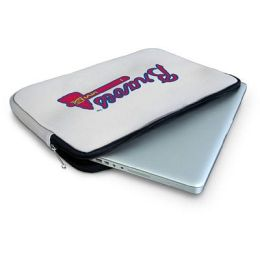 Centon LTSATL.15 Atlanta Braves MLB Laptop Sleeve - Fits Notebook PCs