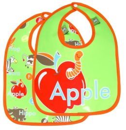 SugarBooger Bib 2-Pack Gift Set - Alphabet
