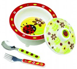SugarBooger Bowl Gift Set - Lady Bug