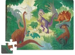 Dinosaur Shaped Box Floor Puzzle