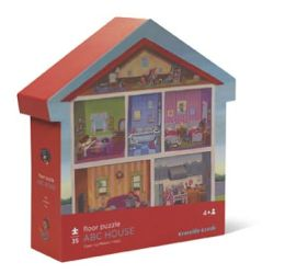 ABC House 35 pc Shaped Box Floor Puzzle