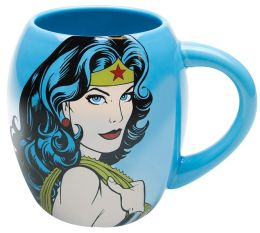 Oval Wonder Woman Mug