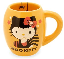 Hello Kitty Halloween ''Spiders'' 18oz Oval Mug