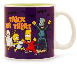 Simpsons Trick or Treat 20oz ceramic Mug