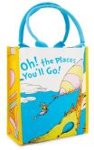Product Image. Title: Dr. Seuss Oh, the Places You'll Go! Small Shopper Tote