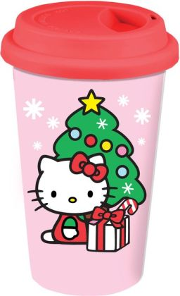 Hello Kitty Happy Holidays Travel Tumbler