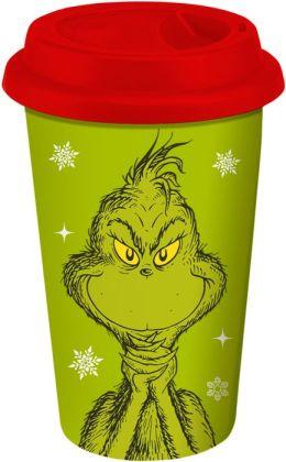 Dr. Seuss Grinch Travel Tumbler