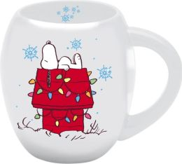 Peanuts Home Sweet Home Oval Mug - 18. oz.