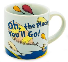 Dr. Seuss Oh, the Places You'll Go! 12 oz Ceramic Mug