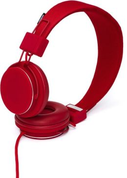 Urbanears Plattan Plus On-Ear Stereo Headphones - Red