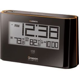 Projection Alarm Clock with Indoor/Outdoor Thermometer