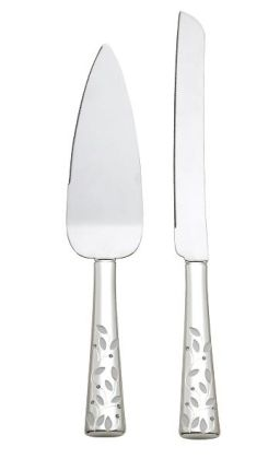 Seasons of Love 2-piece Cake Knife set