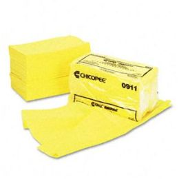 Chix 0911 Masslinn Dust Cloths- 24 x 24- Yellow- 50/Bag- 2/Carton